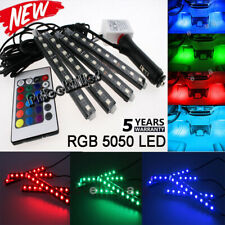 RGB Color Bar Glow Dash Footwell Interior Light 5050 LED Strip SMD for Chevy AA+