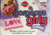 Make A Gorgerous Girly Cushion Complete Craft Kit
