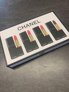 Coffret De 4 Rouges A Levres Chanel Neuf