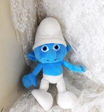 "2013 Jakks Pacific Clumsy Smurf Plush Doll 10"" - Super Cute - Soft!"