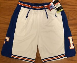 $80 RARE NEW Nike Mens Florida Gators Jordan Basketball Shorts BV2652-100 Large