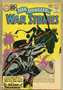 Star Spangled War Stories #98-1961 fair 1.0 Dinosaur cover and story Ross Andru