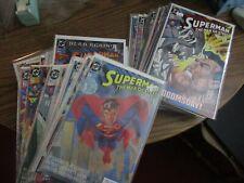 Superman Man of Steel lot of 51 comics FINE