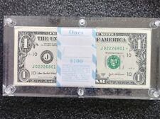 2003 STAR $1 DOLLAR PACK KANSAS DISTRICT CRISP UNC STAR*  IN ACRYLIC HOLDER RARE