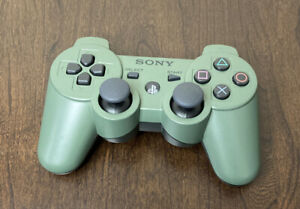 Official Playstation 3 Ps3 Dualshock Controller Jungle Green