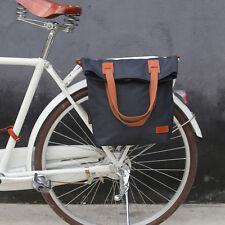 Tourbon Bike Bag Cycling Rear Rack Pack  Single Pannier Tote Saddle Case Travel
