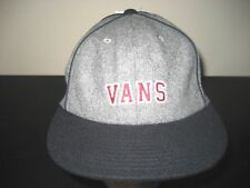 Vans Shoes Owen Mens Unstructured Wool Cap Hat Black Grey Adjustable Free Ship