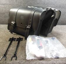 New OEM 2004 -Later Harley XL Sportster Detachable Locking Saddlebags #B1392