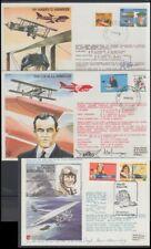 Australia 1978/9 Illustrated Flight Covers (x3) Signed (Id:101/D50771)