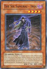 STON-EN012 The Six Samurai - Irou 1st Edition Yugioh Card