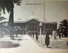 NEW GIANT Vintage Postcard State Capitol Phoenix Arizona AZ 9 x 7 Black & White