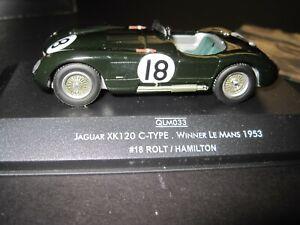 C-Type Jaguar Le Mans  in 1//43rd scale kit by K /& R Replicas
