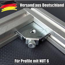 Innenwinkel Aluprofil 20mm Nut 6 Profilverbinder EN 1.1191 NEU Profil L0057