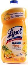 Lysol Clean & Fresh Multi Surface Cleaner Hawaii Sunset Essence 52oz Bottle