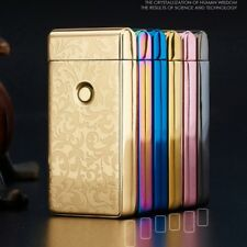 Electric USB Plasma Double Arc Lighter Flameless windproof rechargeable metallic
