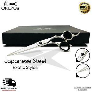 "6.5"" Professional Japanese Barber Scissor Hair Cutting Salon Onlyus Shears RAZOR"