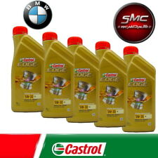 5 LITRI OLIO CASTROL EDGE 5W30 M BMW LONGLIFE 04 ACEA C3 MERCEDES 229.31 229.51
