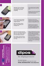 2x Dipos Crystalclear Displayschutzfolie für Nokia Lumia 800 Displayfolie