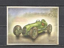 Austin 750 Racing Car 1936 Vintage 1950s Dutch Trading Card No.159