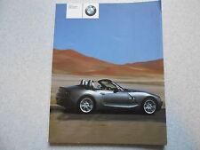 Uso e manutenzione della vettura BMW z4 (2.5i/3.0i)