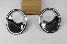 For Suzuki Vitara Escudo 2015 - 2017 ABS Chrome Front Fog Light Cover Trims 2pcs