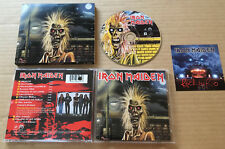 IRON MAIDEN Self Titled LIMITED RARE PROMO ONLY STICKERED PRESSING CD 1998 USA