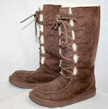 Ugg Australia Brown Rubber Boots For Women For Sale Ebay