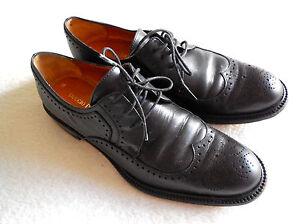 Duccio Del Duca Milano Black Oxford Leather Shoes