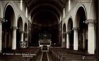 Kingston Lewes East Sussex England AK ~1930/40 St. Agathas Church Kirche Altar