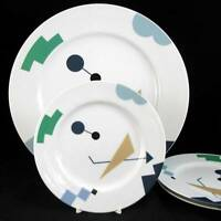 Studio Nova EMOTION Chop Plate + 3 Salad Plates YA003 LIGHT USE