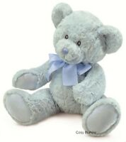 RUSS Berrie Newborn Boy Blue Teddy Bear Sweet Beginnings Baby Safe Large