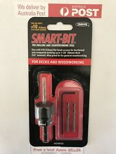 Smart-Bit  Pre-drilling Countersinking Tool for Decks and Woodworking
