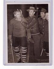 EDDIE SHORE VINTAGE ORIGINAL 5x7 PHOTO SPRINGFIELD INDIANS AHL