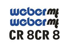 Sticker, aufkleber, decal - WEBER CR 8