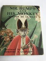 Dorothy P Lathrop, Walter De La Mare, MR. BUMPS AND HIS MONKEY, 1st Edition 1942