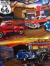 Antique Car Diner Trucks Vintage Valance
