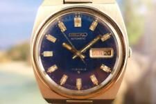 Classic Blue Dial 37mm SS Seiko  6308 8830 Day/ Date Automatic