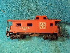 Vtg HO ? Toy Model Railroad Train A.T. & S.F. Santa Fe 7240 Caboose