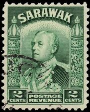 "SARAWAK 110 (SG107) - Sir Charles Vyner Brooke ""1934 Green"" (pa60992)"