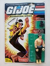 G. I. JOE Quick Kick FUNSKOOL International Heroes Action Figure Hasbro
