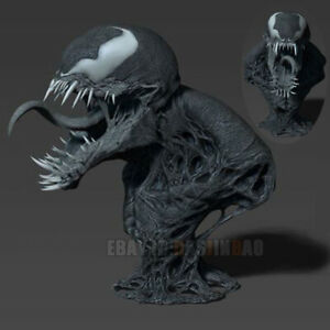 Venom Figure 3D Printing Model Unpainted Unassembled H20cm