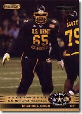 (50) MICHAEL OHER Carolina Panthers 2010 US Army All American Bowl LOT