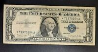 1957 A $1 ONE DOLLAR SILVER CERTIFICATE -VERY NICE CIRC STAR NOTE! -d3260dxx