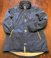 Girls Michael Kors Navy Blue Winter Coat Jacket, Sz 10-12