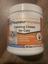 ThunderWunders Cat Calming Chews | Vet Recommended to Help Reduce Situational