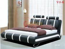 ITALIAN DESIGN KING SIZE 2017 model Y15-K PU LEATHER BED FRAME