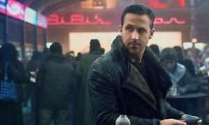 Ryan Gosling Black Blade Runner 2049 Real Leather Leather Trench Coat