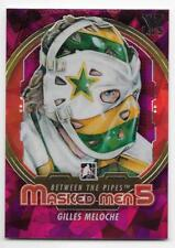 12/13 BETWEEN THE PIPES 'VAULT' MASKED MEN 5 Gilles Meloche #MM29 /5