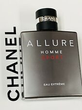 ALLURE Homme Sport Eau Extreme Eau de Parfum For Man  3.4 oz white box Original