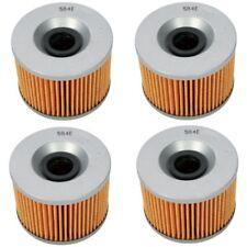 Oil Filter 4 Pack Honda CB650 CB750 GL1000/ Kawasaki EX250 KZ440 KZ550 KZ1000